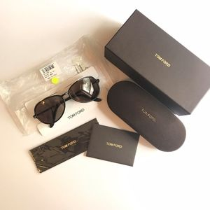 Tom Ford TF149 Ramone Black Aviator Sunglasses